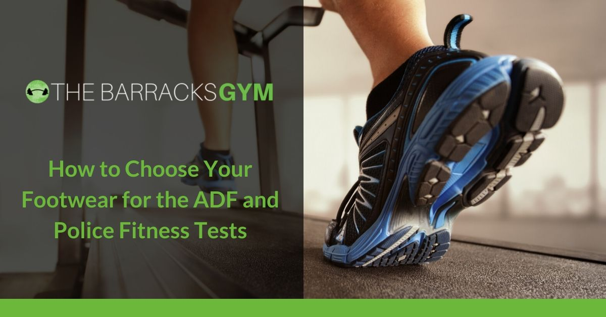 Training Shoes for ADF and Police Fitness Test
