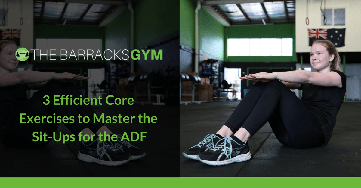 3 Efficient Core Exercise to Master Site Ups for the ADF