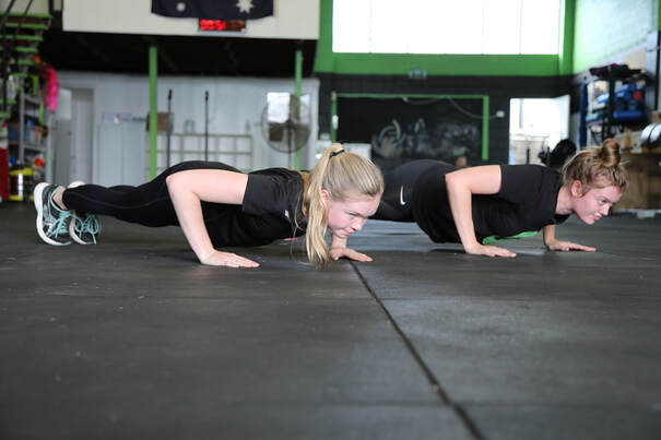 Push-up test for NSW Police